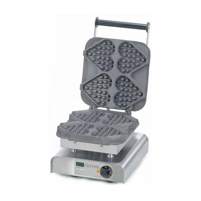 Stick On A Waffle Iron ~ Sephra heart on a stick waffle maker